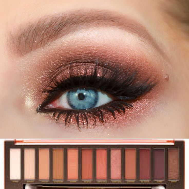 urban decay naked 3 palette naked eyes tutorial
