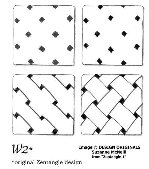 zentangle tutorial step by step
