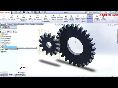 solidworks planetary gearbox tutorial