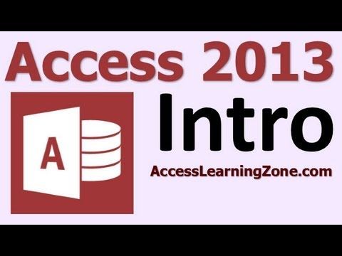 ms access database tutorial for beginners