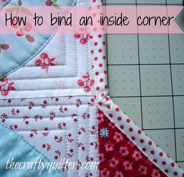 how to bind a quilt tutorial