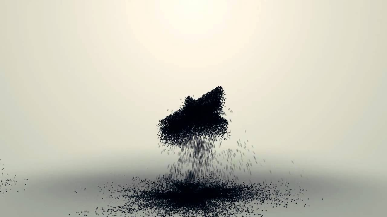 particle logo reveal after effects tutorial