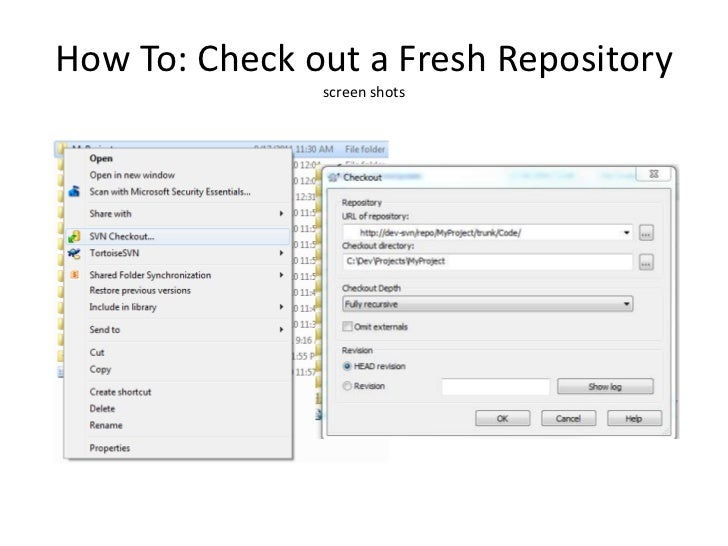 how to use svn tortoise tutorial