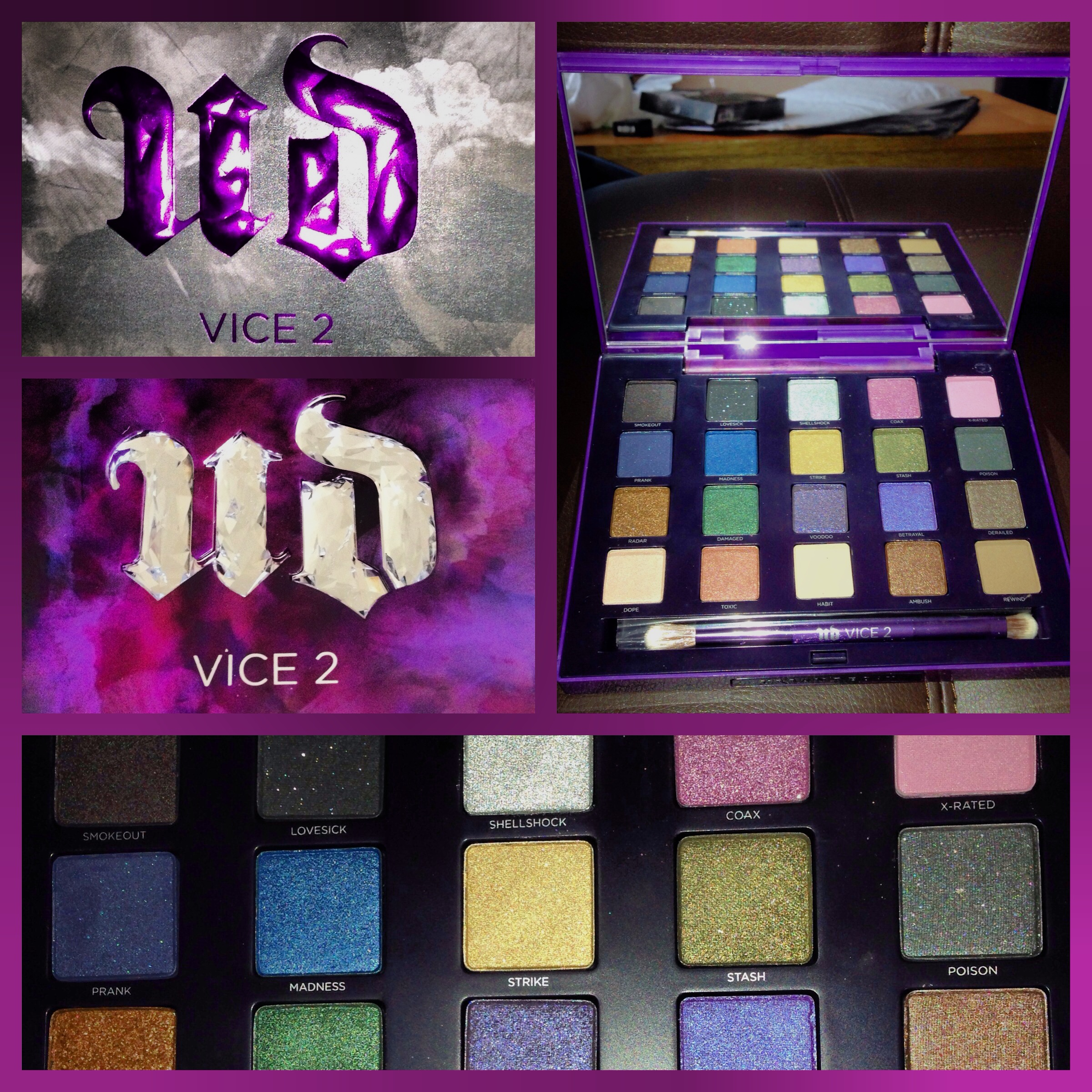 urban decay vice 2 palette tutorial