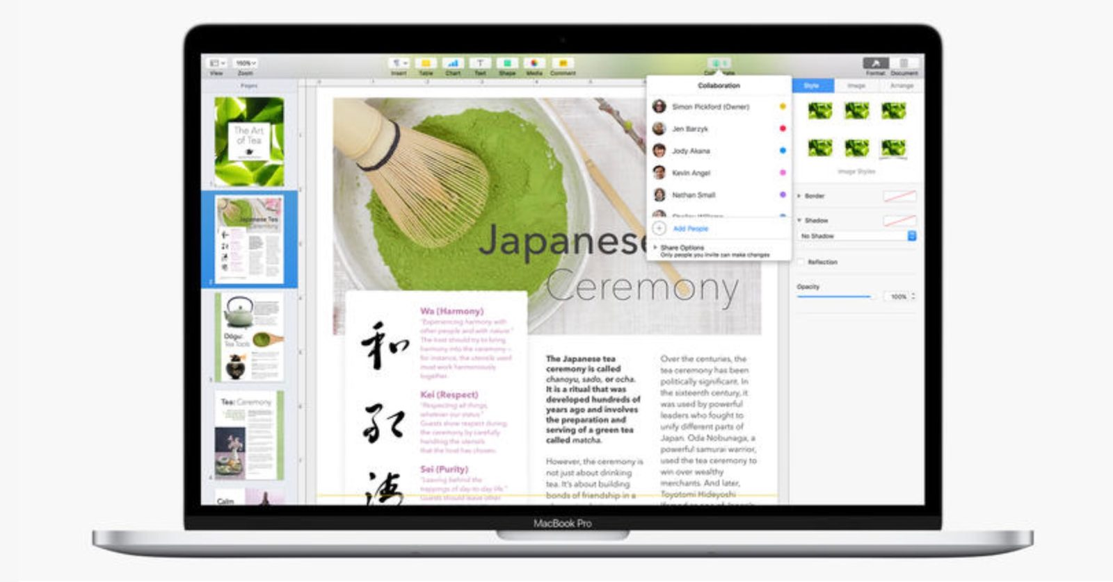 apple pages tutorial pdf