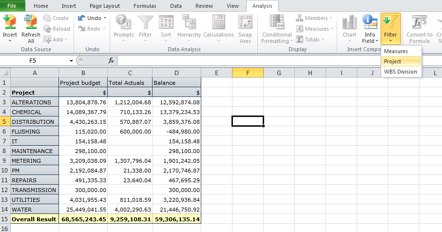 sap business objects analysis for office tutorial