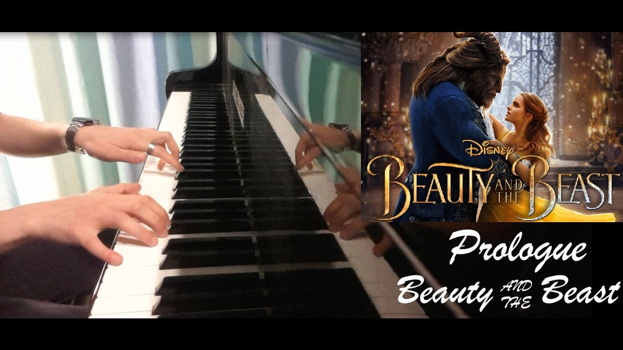 beauty and the beast prologue piano tutorial