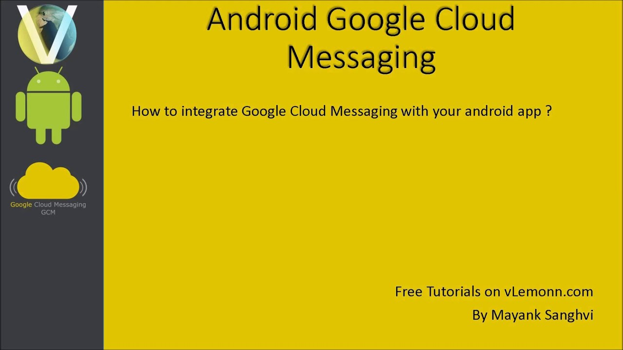 google cloud messaging tutorial android