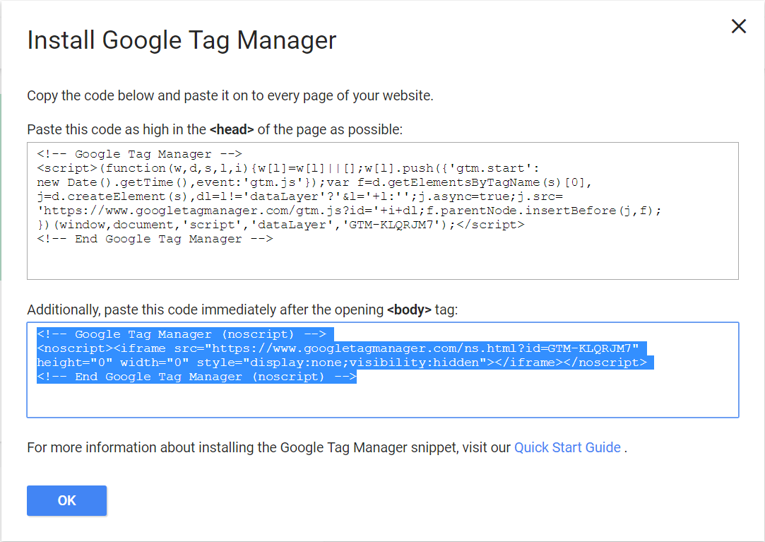 google tag manager tutorial 2017