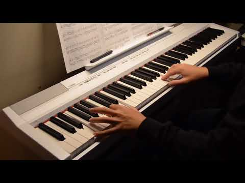up theme song piano tutorial slow
